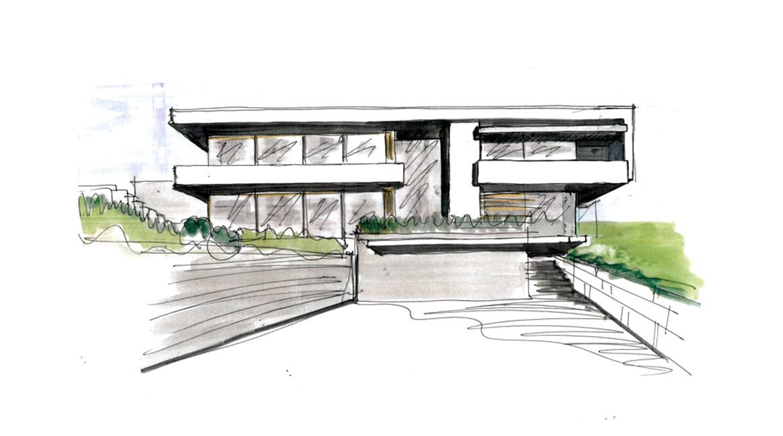 house b - Architektur Wohnhaus Fuchs Und Wacker