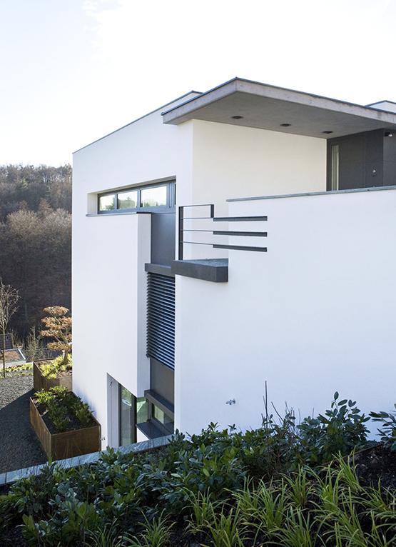 Haus rz architekten bda fuchs wacker for Gartengestaltung 200 qm