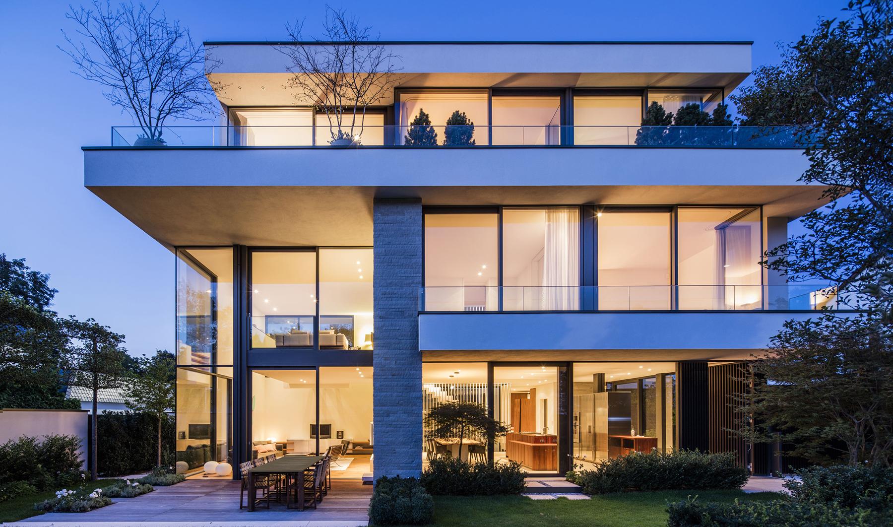 haus ti frankfurt deutschland - Architektur Wohnhaus Fuchs Und Wacker