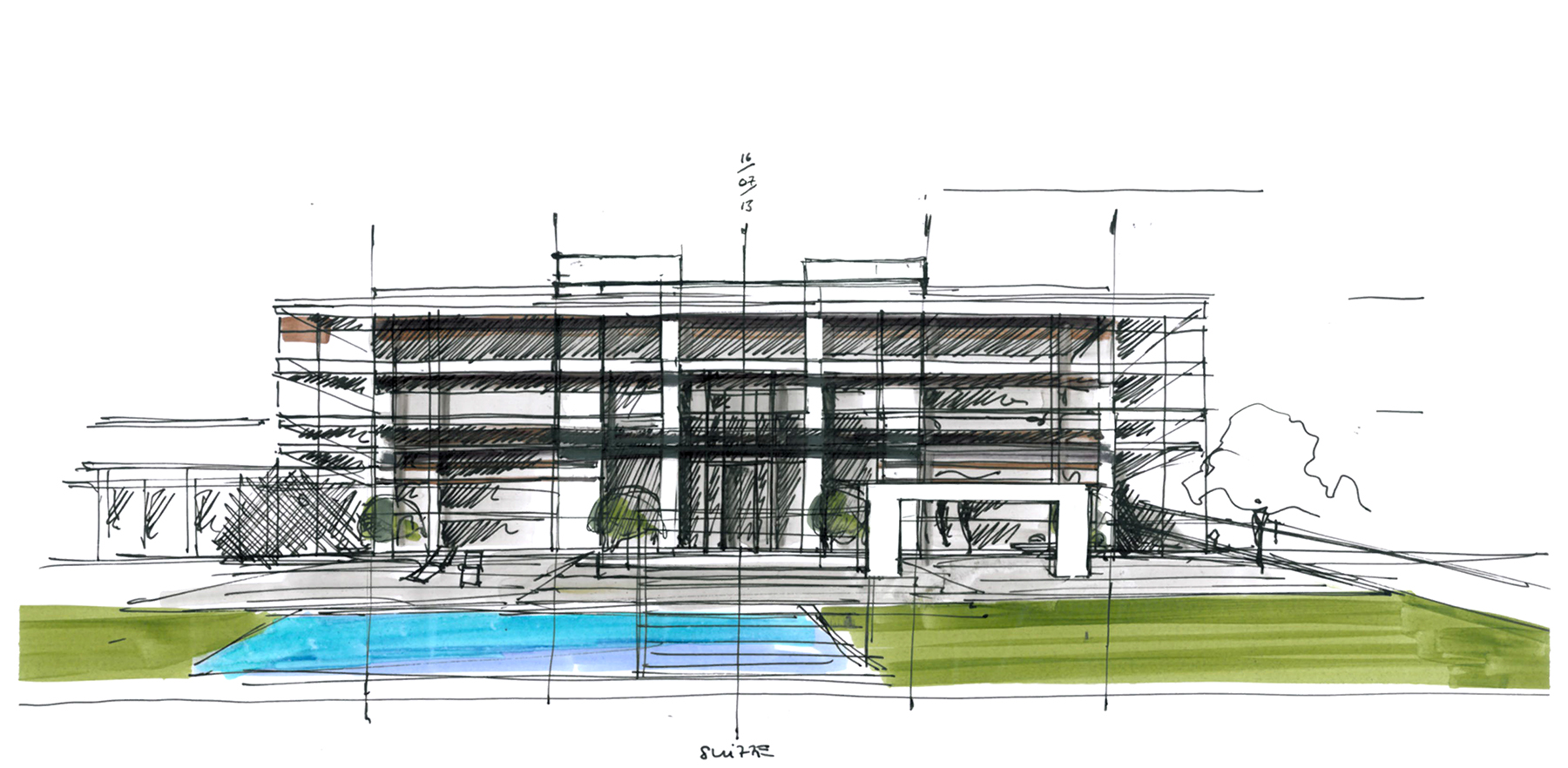 single family home - Architektur Wohnhaus Fuchs Und Wacker